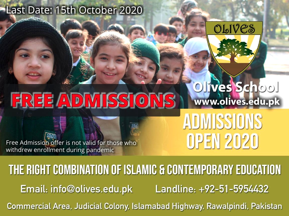 Olives School Admissions 2020